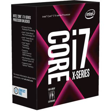 Intel S2066 Core i7 7800X 3.5GHz 6 Core CPU BX80673I77800X (No Heatsink Included)