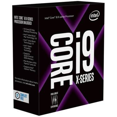 Intel S2066 Core i9 7900X 3.3GHz 10 Core CPU BX80673I97900X (No Heatsink Included)