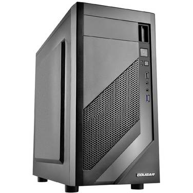 Cougar MicroATX MG110 Case Black (No PSU)