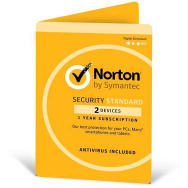Symantec Norton Security Standard OEM Subscription for 2 PC 5397039345727