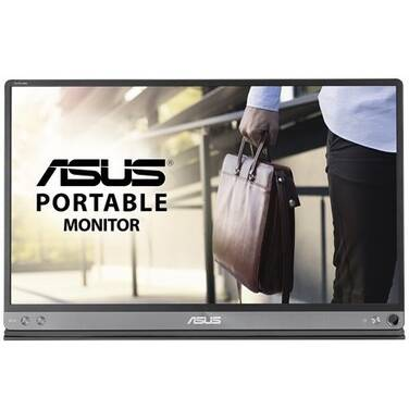 ASUS 15.6 MB16AC ZenScreen FHD USB Type-C Power IPS Monitor