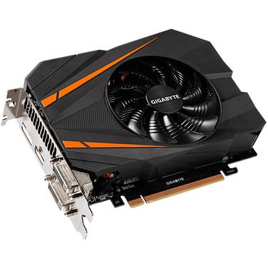 Gigabyte GTX1070 8GB Mini ITX OC PCIe Video Card PN GV-N1070IXOC-8GD