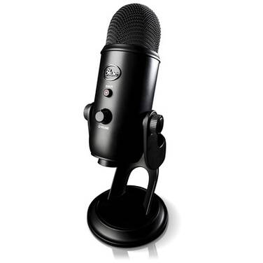 Blue Yeti Blackout USB Microphone 836213002070