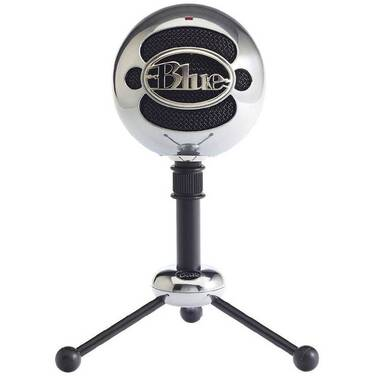 Blue Snowball Aluminium USB Microphone 836213001936