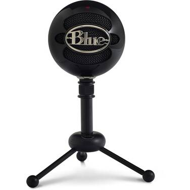 Blue Snowball Black USB Microphone 836213001912