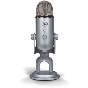 Blue Yeti Silver USB Microphone 836213001950