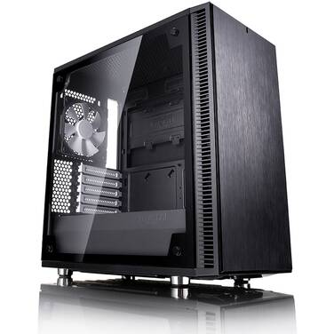 Fractal Design MicroATX Define Mini C TG Tempered Glass Case FD-CA-DEF-MINI-C-BK-TG