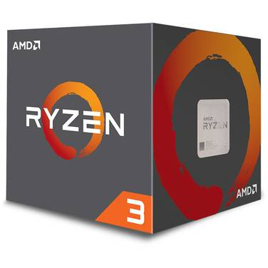 AMD AM4 Ryzen 3 1300X Quad Core 3.4GHz CPU