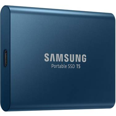 250GB Samsung USB 3.1 Type-C T5 Series Portable SSD PN MU-PA250B/WW