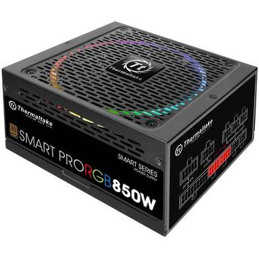 850 Watt Thermaltake Smart Pro RGB Bronze Power Supply PN PS-SPR-0850FPCBAU-R