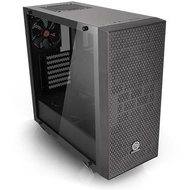 Thermaltake ATX Core G21 Tempered Glass Case Black (No PSU) PN CA-1I4-00M1WN-00