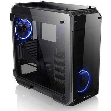 Thermaltake Full ATX View 71 Tempered Glass Case (No PSU) PN CA-1I7-00F1WN-00