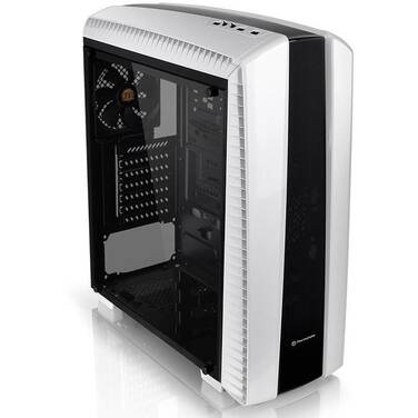 Thermaltake ATX Versa N27 Snow Edition Case with Window (No PSU) PN CA-1H6-00M6WN-00