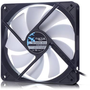 140mm Fractal Design Silent R3 Case Fan PN FD-FAN-SSR3-140