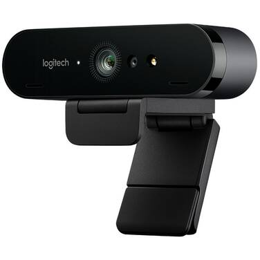 Logitech Brio 4K Ultra HD Webcam with RightLight 3 with HDR 960-001105
