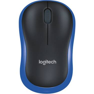 Logitech M185 Wireless Mouse BLUE PN 910-002502