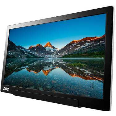 15.6 AOC I1601FWUX IPS FHD Portable USB-C LED Monitor
