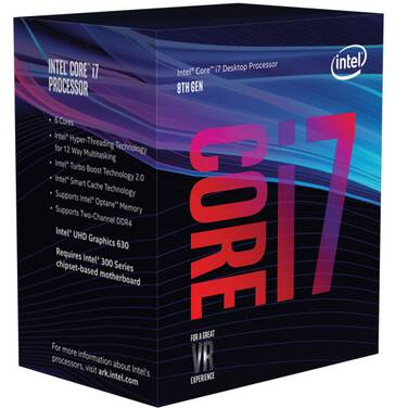 Intel S1151 Core i7 8700 3.2GHz 6 Core CPU PN BX80684I78700, Limit 10 per customer