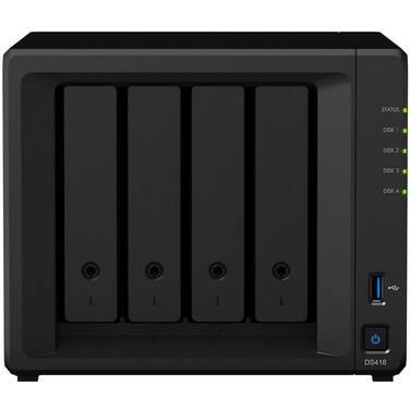 4 Bay Synology DS418 2GB DiskStation Gigabit NAS Unit