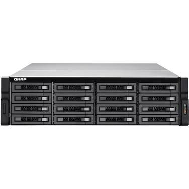 16 Bay QNAP TVS-EC1680U-SAS-RP-8GE-R2 Rackmount NAS Unit