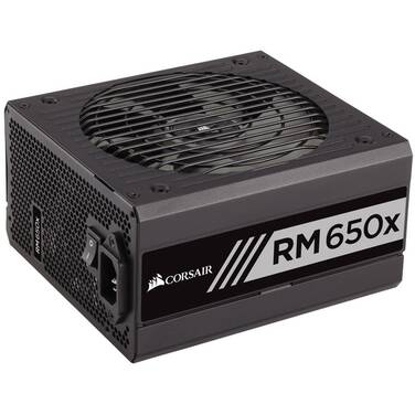 650 Watt Corsair RM650x 80 Plus Gold Modular Power Supply PN CP-9020178-AU