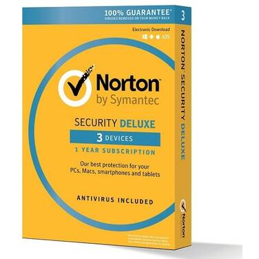 Symantec Norton Security DELUX OEM Subscription for 3 Devices