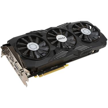 MSI GTX1070 8GB DUKE OC PCIe Video Card PN GTX1070-8G-DUKE-OC