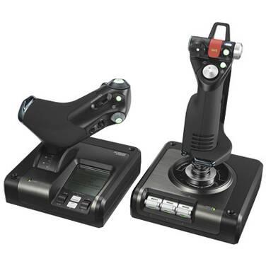 Saitek by Logitech X52 PRO HOTAS Flight Control System PN 945-000022