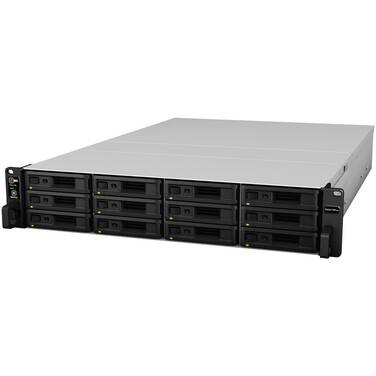 12 Bay Synology RS3617RPxs RackStation Gigabit NAS Unit
