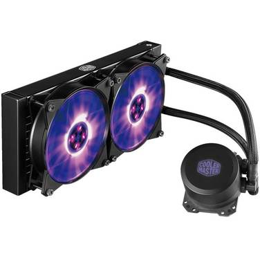 Cooler Master MasterLiquid Lite 240 RGB Liquid CPU Cooler MLW-D24M-A20PC-R1