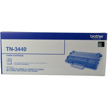 Brother TN-3440 Toner High Yield (8000 Pages)