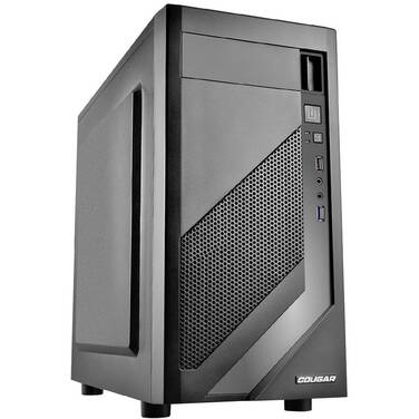 Cougar MG110 MicroATX Case Black with 400W PSU