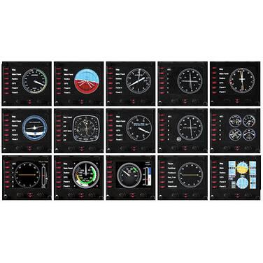 Logitech G PRO Flight Instrument Panel PN 945-000027