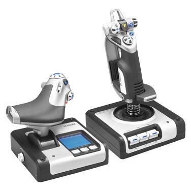 Logitech G X52 HOTAS. Throttle and Stick Simulation 945-000025 Controller
