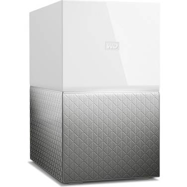 8TB WD 3.5 My Cloud Home Duo NAS PN WDBMUT0080JWT-SESN White