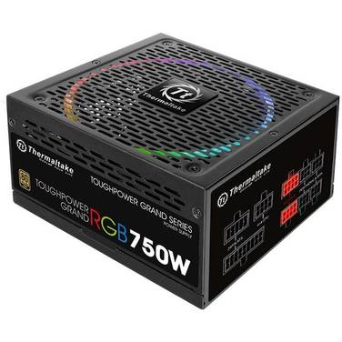 750 Watt Thermaltake Toughpower Grand RGB 80 Plus Gold Power Supply PN PS-TPG-0750FPCGAU-R