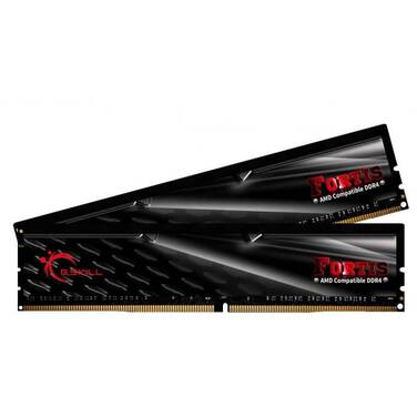 16GB DDR4 (2x8G) G.Skill 2400Mhz FORTIS RAM F4-2400C15D-16GFT OPEN STOCK - CLEARANCE