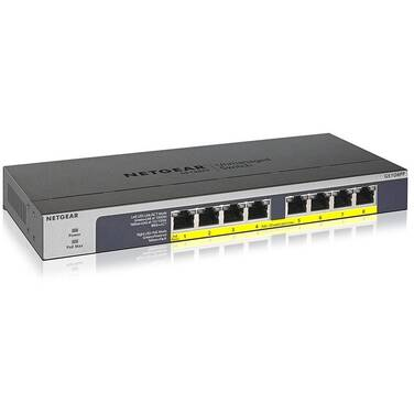 8 Port Netgear GS108PP-100AJS ProSafe Gigabit Switch with Power Over Ethernet
