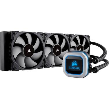 Corsair Hydro Series H150i PRO RGB Liquid CPU Cooler PN CW-9060031-WW