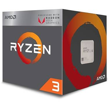 AMD AM4 Ryzen 3 2200G Quad Core 3.5Ghz RX Vega Graphics CPU YD2200C5FBBOX