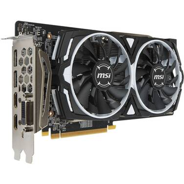 MSI RX580 8GB Armor OC PCIe Video Card RX580-ARMOR-8G-OC