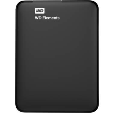 4TB WD 2.5 USB 3.0 Elements Portable HDD PN WDBU6Y0040BBK