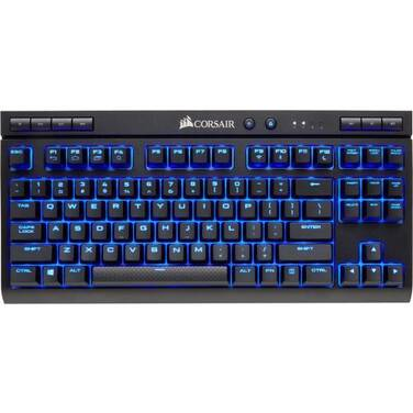Corsair Wired/Wireless K63 MX RED with Blue LED Mechanical Gaming Keyboard PN CH-9145030-NA
