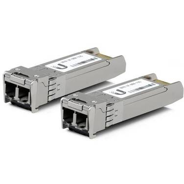 Ubiquiti UFiber Multi-Mode Fiber Modules PN UF-MM-10G 2-pack