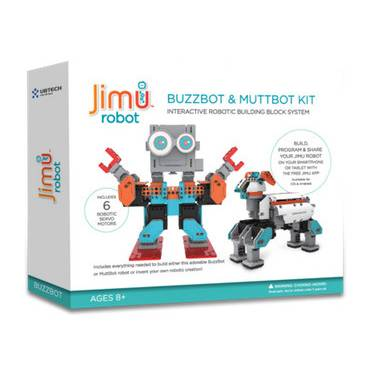 UBTECH JIMU BuilderBots BuzzBot and MuttBot Kit