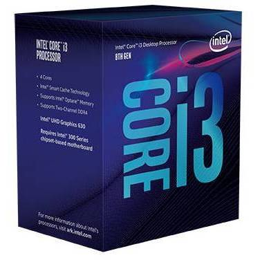 Intel S1151 Core i3 8300 3.7GHz Quad Core CPU PN BX80684I38300