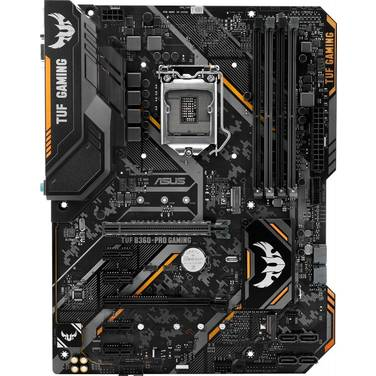ASUS S1151 ATX TUF B360-PRO Gaming DDR4 Motherboard