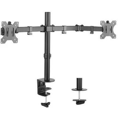 13 - 32 Brateck BT-LDT12-C024N Dual Monitor Steel Monitor Arm
