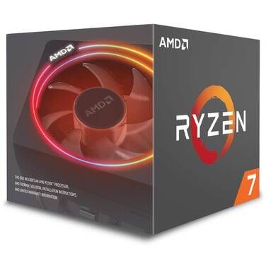 AMD AM4 Ryzen 7 2700X Eight Core 3.7GHz 105W CPU PN YD270XBGAFBOX (No Integrated Graphics)