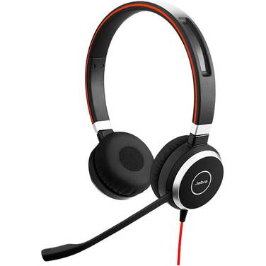 Jabra Evolve 40 MS Stereo Headset PN 6399-823-109